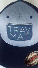 Travis Mathew Men's Hat - Siv - Trav Mat - Insignia Blue - FlexFit L or XL - NWT