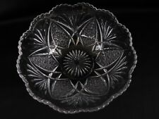 """EAPG Berry or Candy Bowl 6-1/2"""" with  scalloped edge"""