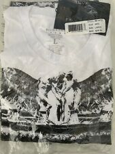 Rich Gang The Doorway Sample T- Shirt Mens Size Small white 100% authentic