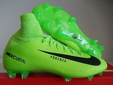 NIKE JR MERCURIAL SUPERFLY V FG ID ELE GREEN SZ 4Y-WOMENS SZ 5.5 [831943-303]