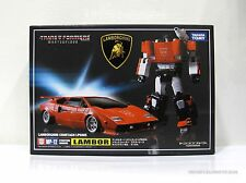 Transformers Masterpiece MP-12 Lambor Lamborghini Sideswipe w Coin Takara MISB