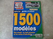 AUTO MOTO N°118 09/1992 GUIDE D'ACHAT 1500 MODELES   K7