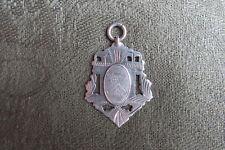 Irish Silver Cricket Medal -- 1942 -- Sports -- Fob