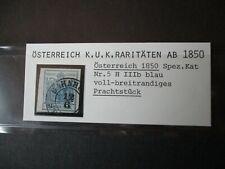 W5) Österreich 1850 - 5H IIIb - gestempelt