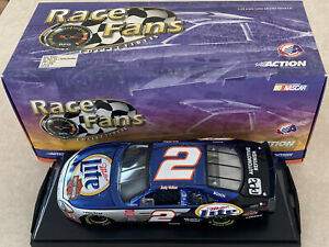 1/24 Color Chrome Rusty Wallace Harley Davidson Ford Taurus #2 Diecast 101716