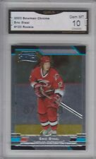 GMA 10 Gem Mint ERIC STAAL 2003/04 Bowman Chrome ROOKIE CARD CANES WILD !