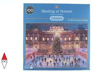 PUZZLE TEMATICO GIBSONS NATALE SKATING AT SUNSET 1000 PZ