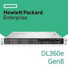 HP ProLiant DL360e Gen8 2x 6-Core Xeon E5-2430L V2 8GB RAM 1U G8 Rack Server