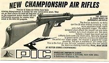 1971 small Print Ad of Precise Imports Corp PIC El Gamo Model 68 Air Rifle