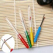 4pcs Plastic Seam Ripper Stitch Unpicker Thread Picker Sewing Craft Tool Set