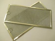 Microwave Grease Filter for Whirlpool W10208631A 5 7/8 x 13 3/8 inch (2 Pk)