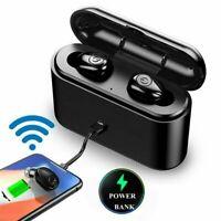 X8S 3000Mah Bluetooth 5.0 Headset TWS Wireless Earphone Mini Earbuds Stereo IPX7