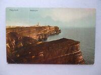 Ansichtskarte Helgoland Westklippen 1911