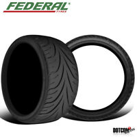 2 X New Federal 595RS-R 235/40R18 91W 140 AAA Tire
