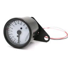 Universal LED Backlight Tachometer Speedometer Gauge Bobber Touring Dirt bike