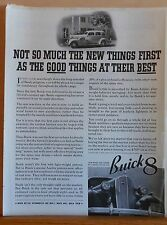 Vintage 1936 magazine ad for Buick - Buick 8 photo, Good Things at Their Best
