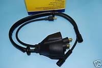 FIAT 126 - 126 Personal KIT CAVI CANDELA  CON COPRICALOTTA cable power