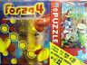 FORZA 4 + PUZZLE 60 PZ doppio gioco di società MB