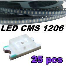 114/25# LED CMS 1206 ultra violet -- UV SMD LED -- 25pcs