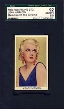 1939 Rothmans Beauties of the Cinema Complete Set High Grade SGC