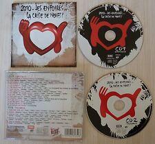2 CD LES ENFOIRES LA CRISE DE NERFS GOLDMAN BRUEL CABREL MC SOLAAR ZAZIE