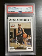 2008 Topps Russell Westbrook Rookie RC Rookie #199 PSA 10 Houston Rockets