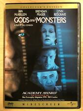Gods and Monsters (Dvd, 1998, Collectors Edition, Widescreen) - G0823