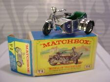 LESNEY Matchbox 1914 SUNBEAM MOTORCYCLE & MILFORD SIDECAR Y-8✰BOX✰Yesteryear