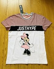 NEW LADIES DISNEY HYPE MINNIE MOUSE TOP / T-SHIRT UK 12  BNWT
