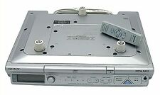 Sony AM/FM Radio CD Player Under Counter Mounted W Remote & Hardware ICF-CD543RM