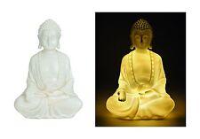 GENIAL Buda 33cm con iluminación Cabeza de Buda Lámpara LED luz modelo NUEVO