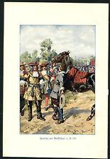 Acht Illustrationen aus altem Abenteuer Buch, in Farbe   (OR1)