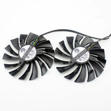 2pcs/set for MSI GTX1080Ti/1080/1070Ti/1070/1060 RX580/570 ARMOR VGA COOLER fan