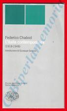 F. Chabod, L'Italia contemporanea (1918-1948)