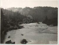H.C. Tibbitts VTG Silver Print Photo Russian River Monte Rio, California 1910s
