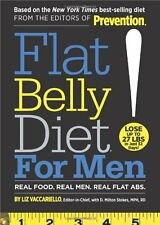 Book - Fitness - Flat Belly Diet! for Men by Liz Vaccariello & D. Milton Stokes