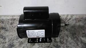 Century B586 1 HP 3450 RPM 208-230VAC Farm Duty Milk Pump Motor
