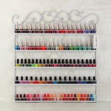 5 Ebene Metall Nagellack Organizer Regal Lippenstiftständer Aufbewahrung Weiß