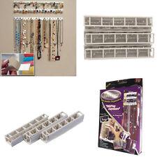 New Adhesive Wall Mount Jewelry Hooks Holder Storage Set Organizer Display A!