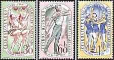 Timbres Sports Tchécoslovaquie 1086/8 ** lot 797