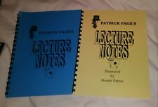 Pat Page Magic 2 Lecture Notes - Topit