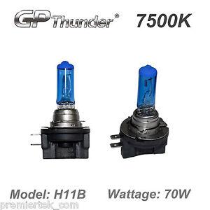 GP-Thunder 7500K H11B Super White Xenon Light Bulbs High Wattage GP75-H11B_70W