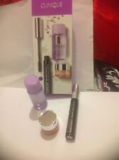 Clinique Eyes make-up Set/HOLIDAY/BIRTHDAY/Christmas/Full Mascara/Free Gift.