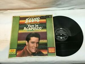 Elvis Fun in Acapulco Silver Spot SF 7609 First press Very Good +Free Shipping