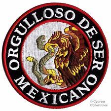 PROUD TO BE MEXICAN BIKER PATCH SPANISH VERSION ORGULLOSO DE SER MEXICANO PARCHE