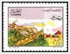 Timbre Insectes Algérie 953 * lot 21608