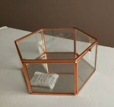 """Pandora Glass Curio Jewelry Box """"Always My Mother Forever My Friend"""" Mothers Day"""