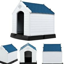 Small Dog House Outdoor Waterproof House Cat Shelter Ventilate Raised Pet Indoor