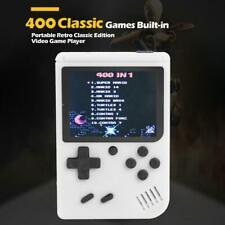3in Handheld Retro FC Game Console Built-in 400 Games 8 Bit Game Player Kid Gift