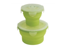 NEW Outwell   Collapsible 2 Piece  Box Set in Lime Green